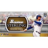 2011 Bowman Sterling Baseball Hobby 4 Box Case
