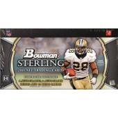2011 Bowman Sterling Football Hobby 4 Box Case