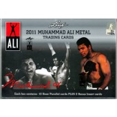 2011 Leaf Muhammad Ali Metal Boxing Hobby 10 Box Case