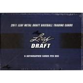 2011 Leaf Metal Baseball Hobby Box