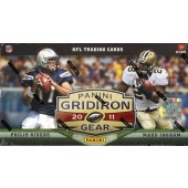 2011 Panini Gridiron Gear Football Hobby 8 Box Case