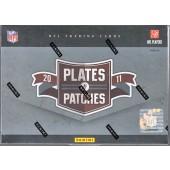 2011 Panini Plates & Patches Football Hobby 15 Box Case