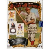 2011 Topps Allen & Ginter Baseball Hobby 12 Box Case