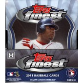 2011 Topps Finest Baseball Hobby 8 Box Case