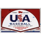 2011 Topps USA Baseball Hobby Set 8 Box Case