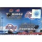 2011 Upper Deck NCAA Sweet Spot Football Hobby Box