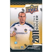 2011 Upper Deck Soccer Hobby 12 Box Case