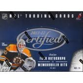 2011/12 Panini Certified Hockey Hobby 8 Box Case