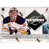 2011/12 Panini Limited Hockey Hobby 15 Box Case