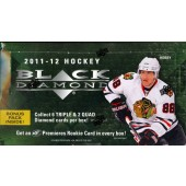 2011/12 Upper Deck Black Diamond Hockey Hobby 12 Box Case