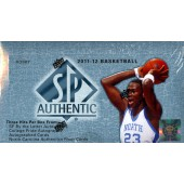 2011/12 Upper Deck SP Authentic Basketball Hobby 12 Box Case