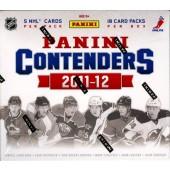 2011/12 Panini Contenders Hockey Hobby 14 Box Case