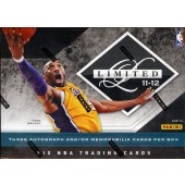 2011/12 Panini Limited Basketball Hobby 15 Box Case