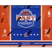 2011/12 Panini Past & Present Basketball Hobby 12 Box Case