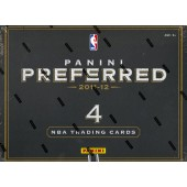 2011/12 Panini Preferred Basketball Hobby 10 Box Case