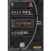 2011 Panini Playbook Football Hobby 10 Box Case