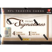 2011 Panini Prime Signatures Football Hobby 30 Box Case