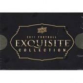 2011 Upper Deck Exquisite Football Hobby 3 Box Case