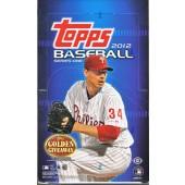 2012 Topps Series 1 Baseball Hobby 12 Box Case