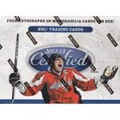 2012/13 Panini Certified Hockey Hobby 8 Box Case