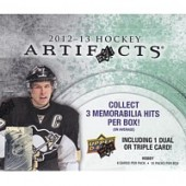 2012/13 Upper Deck Artifacts Hockey Hobby Box