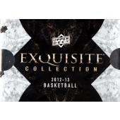 2012/13 Upper Deck Exquisite Collection Basketball 3 Box Case