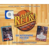 2012/13 Upper Deck Fleer Retro Basketball Hobby 6 Box Case