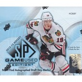 2012/13 Upper Deck SP Game Used Hockey Hobby Box
