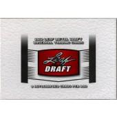 2012 Leaf Metal Draft Baseball Hobby 12 Box Case