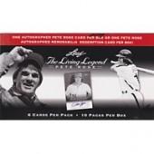 2012 Leaf Pete Rose The Living Legend Hobby 20 Box Case