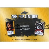 2012 Leaf Pop Century Trading Cards Hobby 12 Box Case