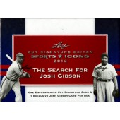 2012 Leaf Sports Icons: The Search for Josh Gibson Hobby 12 Box Case