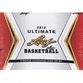 2012 Leaf Ultimate Basketball Hobby Box
