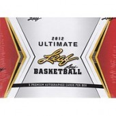 2012 Leaf Ultimate Basketball Hobby 6 Box Case