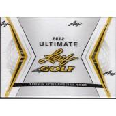 2012 Leaf Ultimate Golf Hobby 12 Box Case