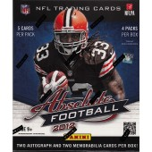 2012 Panini Absolute Memorabilia Football Hobby 18 Box Case