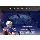 2012 Panini Certified Football Hobby 24 Box Master Case