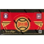 2012 Panini Cooperstown Baseball 14 Box Hobby Case