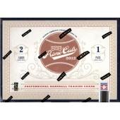 2012 Playoff Prime Cuts Baseball Hobby 15 Box Case