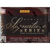 2012 Panini Signature Series Baseball Hobby 15 Box Case