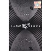 2012 Upper Deck All Time Greats Sports Edition Hobby 3 Box Case