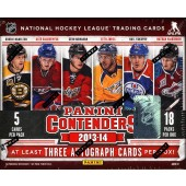 2013/14 Panini Contenders Hockey Hobby 14 Box Case