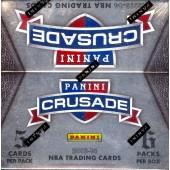 2013/14 Panini Crusade Basketball Hobby 15 Box Case