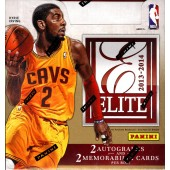 2013/14 Panini Elite Basketball Hobby 12 Box Case