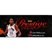 2013/14 Panini Prestige Basketball Hobby 12 Box Case
