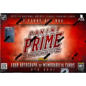 2013/14 Panini Prime Hockey Hobby Box