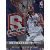 2013/14 Panini Spectra Basketball Hobby 5 Box Case