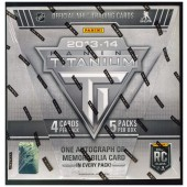 2013/14 Panini Titanium Hockey Hobby 16 Box Case