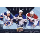 2013/14 Upper Deck Trilogy Hockey Hobby 4 Box Case