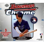 2013 Bowman Chrome Baseball Jumbo (HTA) 8 Box Case
